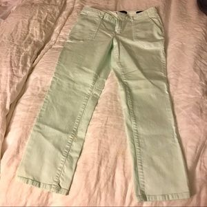 "Banana Republic ""Sloan"" Mint Pants"